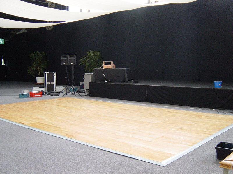 Houten dansvloer
